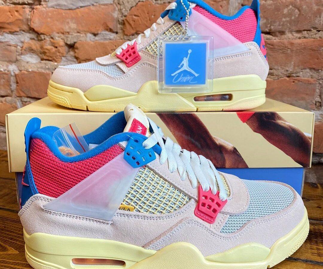 """Air Jordan 4 Retro SP """"Union – Guava Ice"""""""