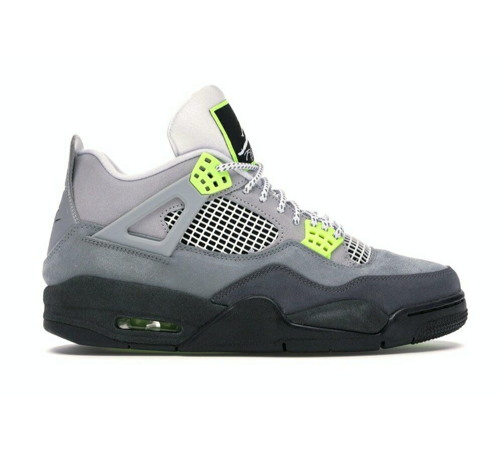 "Air Jordan 4 Retro GS ""Neon"""