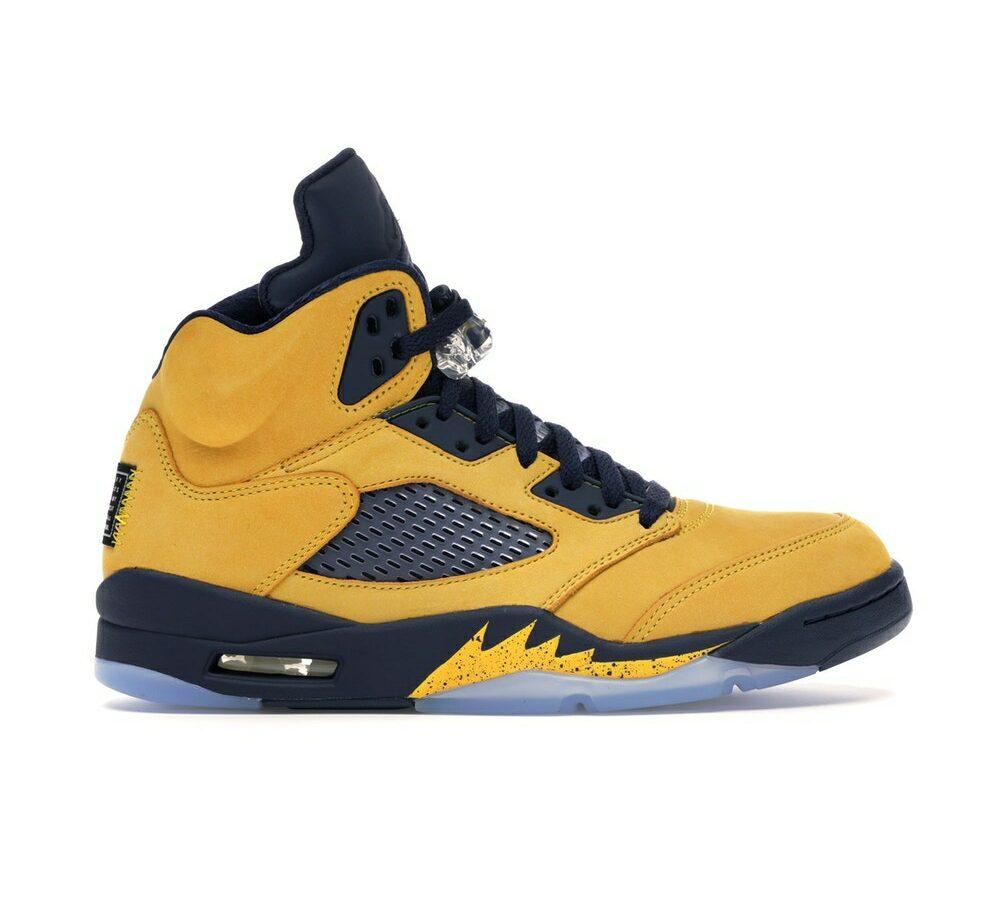 "Air Jordan 5 Retro SE ""Michigan"""