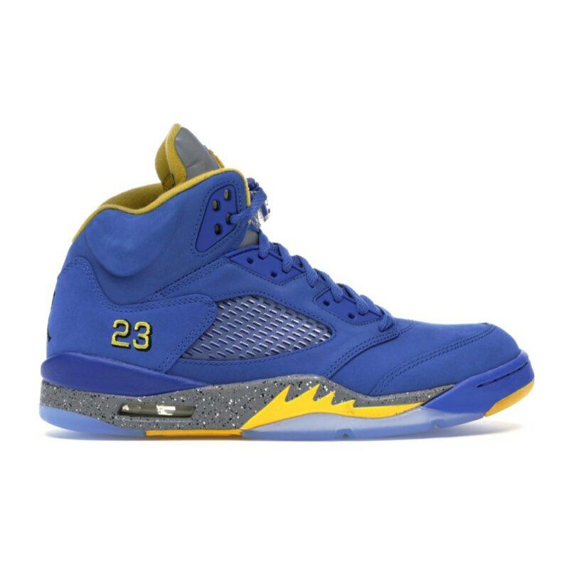"""Air Jordan 5 Retro """"Laney Varsity Royal"""""""