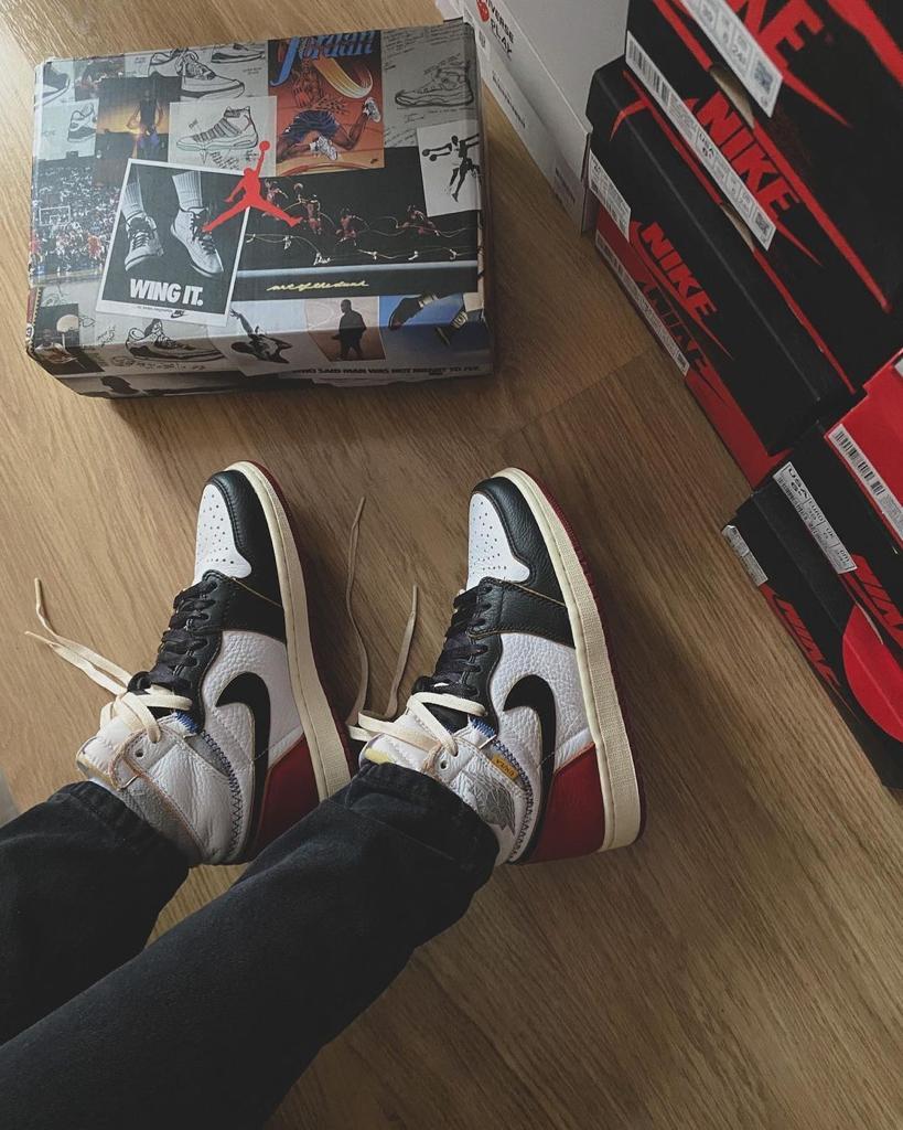Air Jordan 1 High NRG Union Black Toe