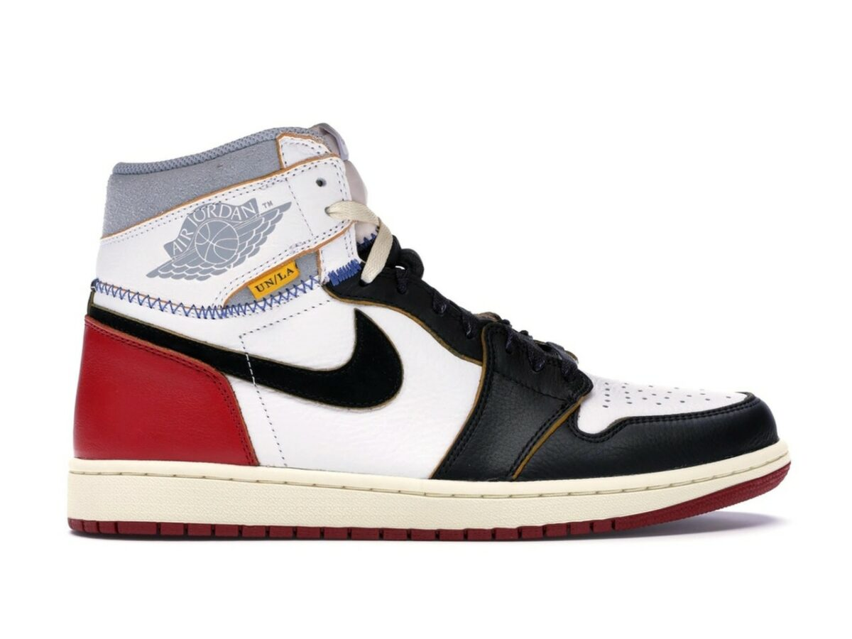 "Air Jordan 1 High NRG Union ""Black Toe"""