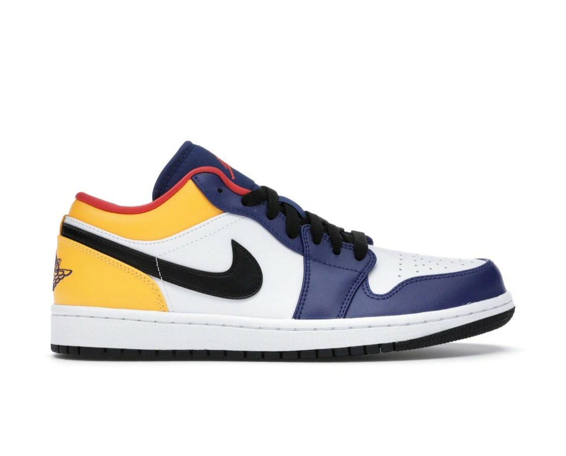 """Air Jordan 1 Low """"Deep Royal Yellow"""""""