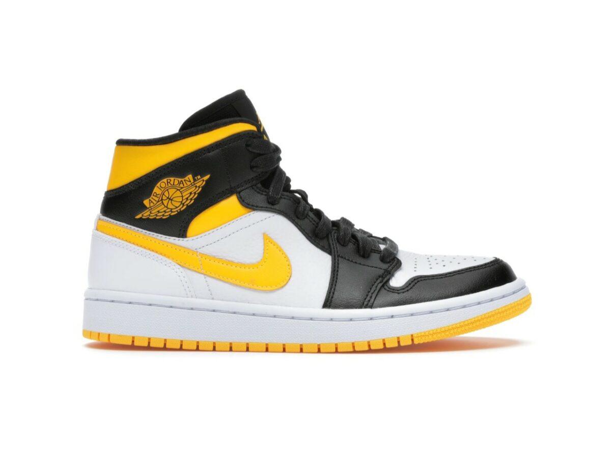 "Air Jordan 1 Mid ""Laser Orange Black"""