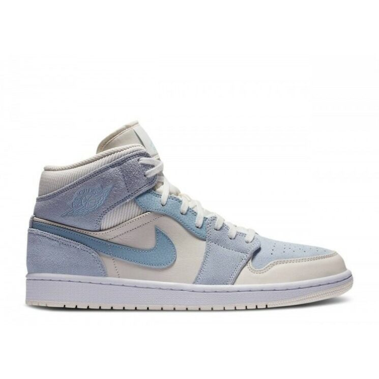 Air Jordan 1 Mid Textures Blue