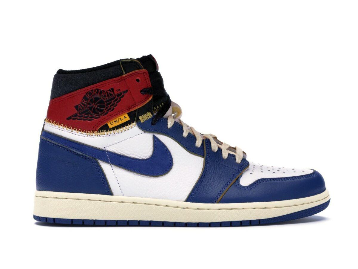 "Air Jordan 1 Retro High NRG ""Union Storm Blue"""