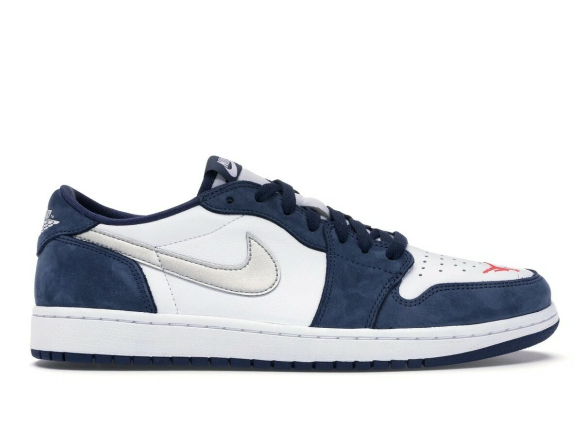 """Nike SB x Air Jordan 1 Low """"Eric Koston"""" Navy"""