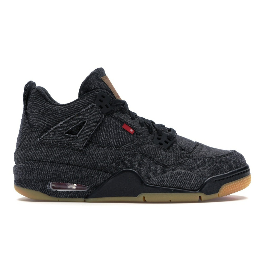 Air Jordan 4 Retro Levi's Black