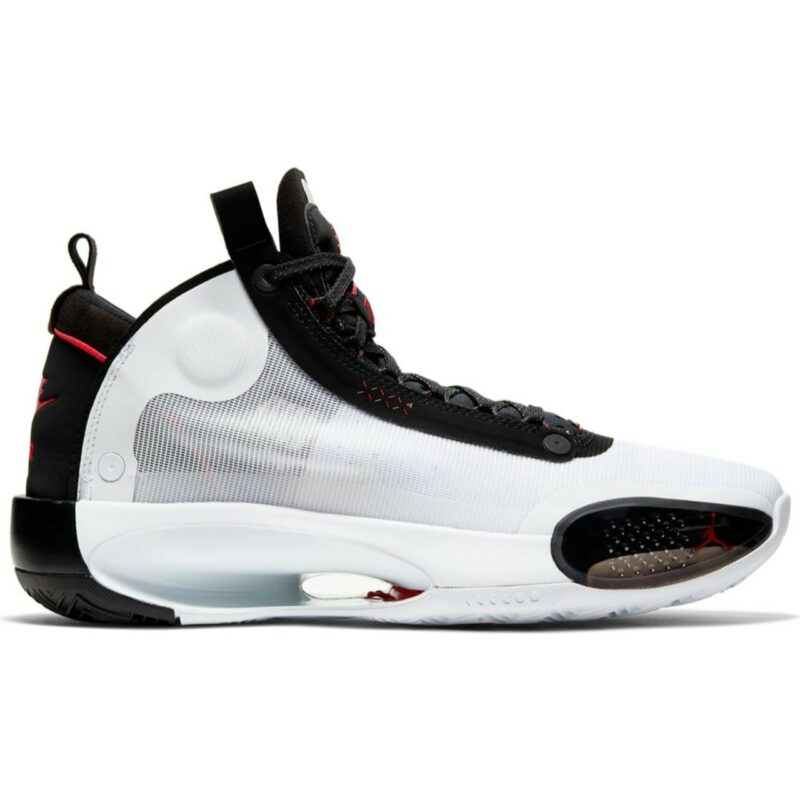 Air Jordan XXXIV White Black Red