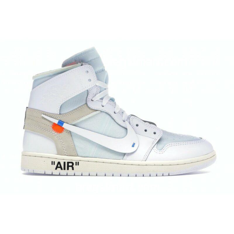 Air Jordan 1 Retro High Off-White White