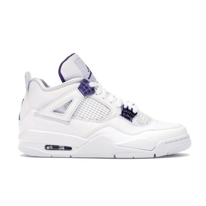 "Air Jordan 4 Retro ""Metallic Purple"""
