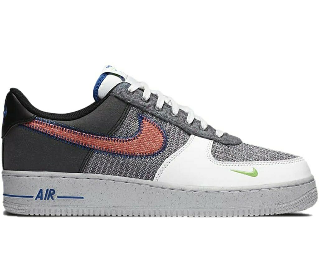 Air Force 1 07 Recycled White