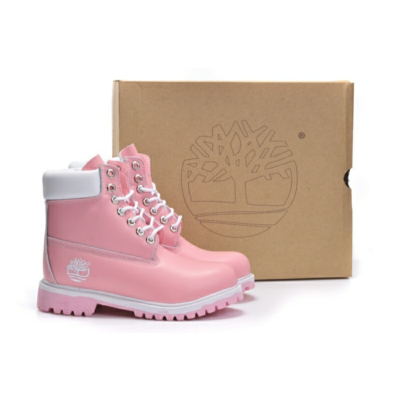 Timberland 6 inch Premium boots Pink