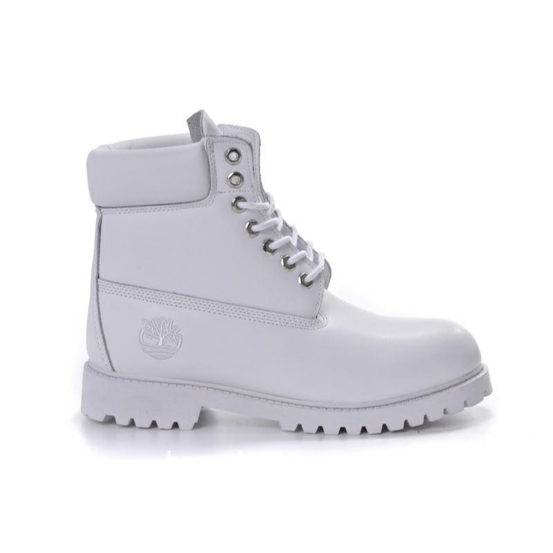 Timberland 6 inch Premium boots White