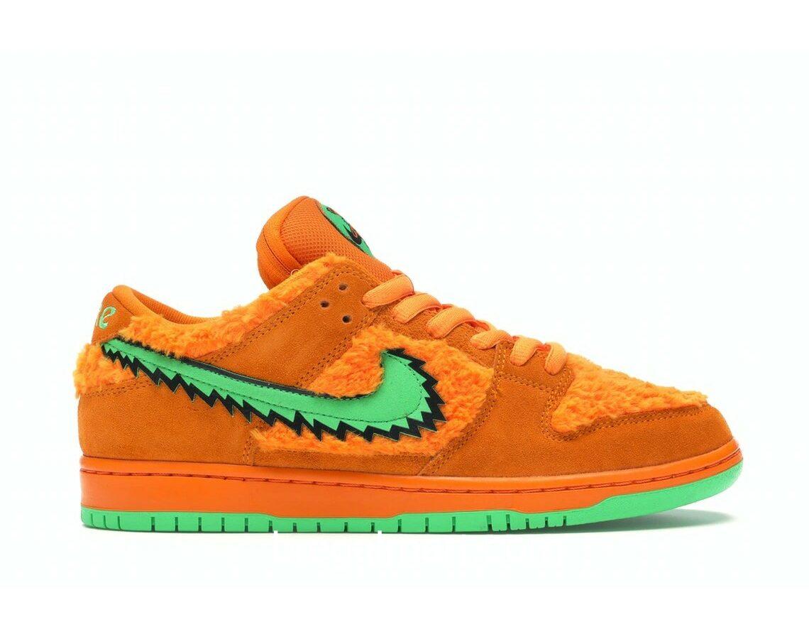 Nike SB Dunk Low Grateful Dead Bears Orange