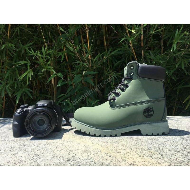 Timberland 6 inch Premium boots Green