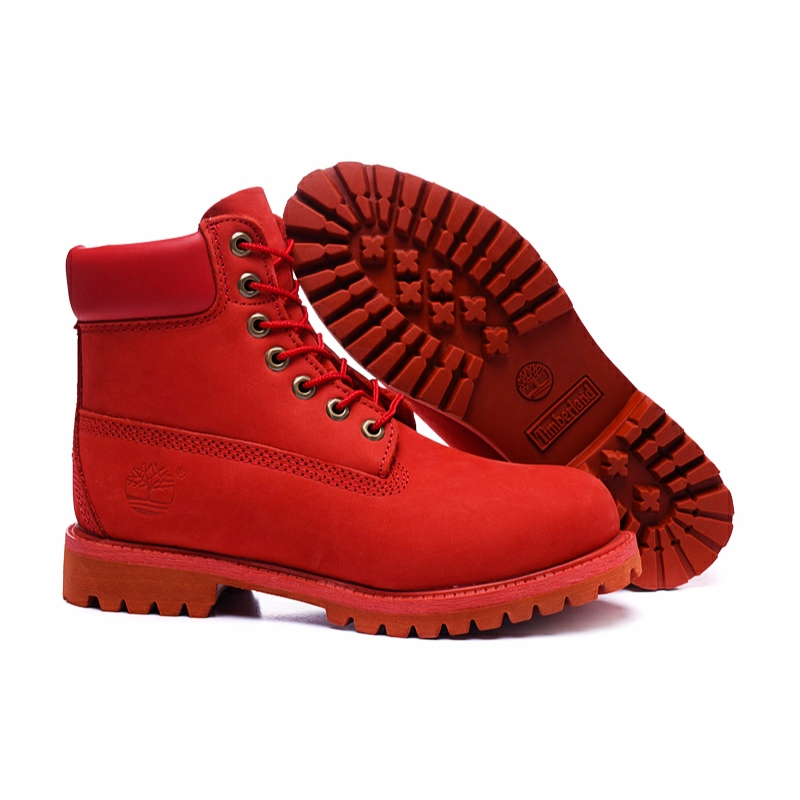 Timberland 6 inch Premium boots Red