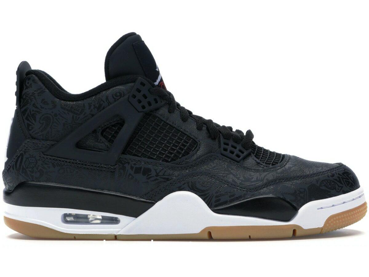 Air Jordan 4 Retro Black Laser